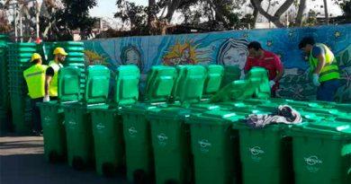 Contenedores en Calera de Tango para una recolección más limpia